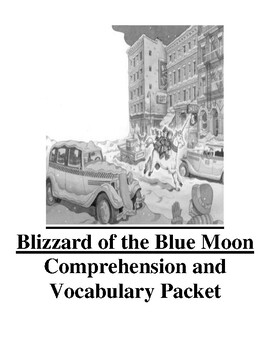 Magic Tree House Blizzard of the Blue Moon Guided Reading Unit Level M