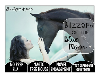 Blizzard of the Blue Moon Text Dependent Questions