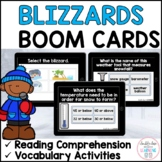 Blizzards Extreme Weather BOOM CARDS™ for Distance Learning