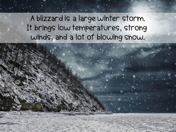 Blizzards & Igloos Non-Fiction Text