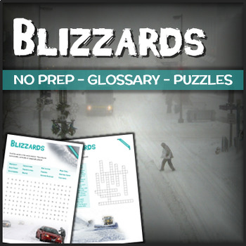 Blizzards - Puzzles & Glossary