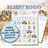 Blizzy Bingo BABY SHOWER Printable PDFs