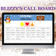 Blizzy Bingo COLORS AND SHAPES for Microsoft Excel