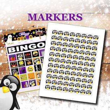 Blizzy Bingo HALLOWEEN Printable PDFs