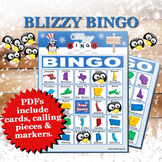 Blizzy Bingo STATES AND CAPITALS Printable PDFs
