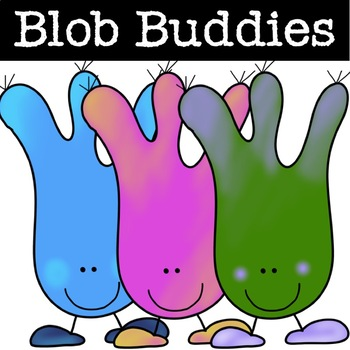 Blob Buddies Clipart