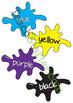 Blob Colour Charts
