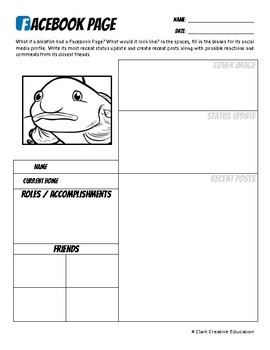 Blobfish -- 10 Resources -- Coloring Pages, Reading & Activities