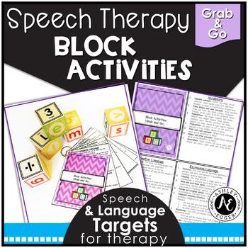 Block Activities- Grab and Go