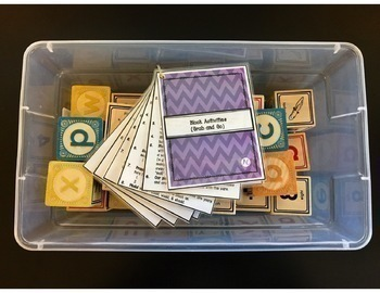 Speech Therapy Block Activities- Grab and Go