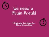 Block Brain Breaks