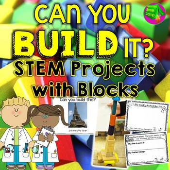 Block Building - STEM Projects for Block Center