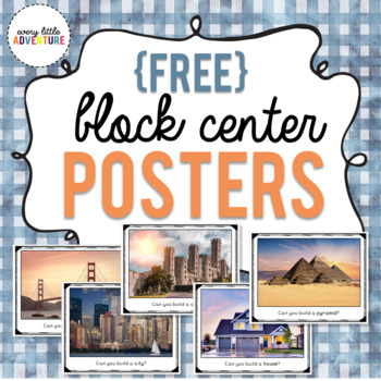 "Block Center ""Can You Build It"" Posters"