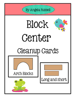 Block Center ~ Cleanup Cards