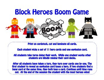 Block Heroes Bang Game