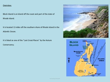 Block Island - Rhode Island Power Point - History Facts Information Pictures
