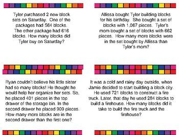 Block Math Stories