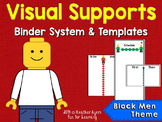 Visual Supports System {Block Men Theme}