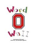Block O Word Wall