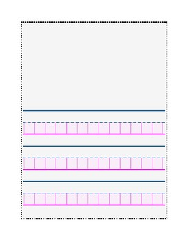 Block Paper for Composition Books