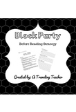 Block Party Pre-Reading Strategy