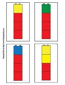 Block Pattern Cards freebie