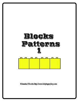 Block Pattern set 1 Beginner level ABA , Special Needs