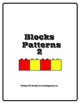 Block Pattern set 2 ABA , Special Needs