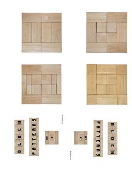 Block Patterns Sets 1 and 2 (minibook)