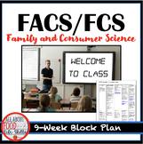 Block Plan for FACS