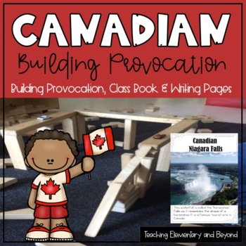 Canadian STEM Block Building Provocations Posters and Book