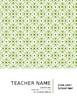 Block Schedule Teacher Planner Template, Fully Editable
