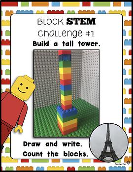 STEM Challenges Activities Kindergarten First and Second Grade
