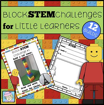 STEM Challenges for K-2 STEM Activities Kindergarten 1st 2nd Grade