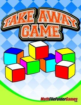 """""""Block"""" Take Away Game {Math Game}"""
