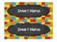 Block Theme & Chalk Board Schedule Cards