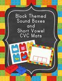 #turkeydeals Block Themed Sound Boxes and Short Vowel CVC Mats