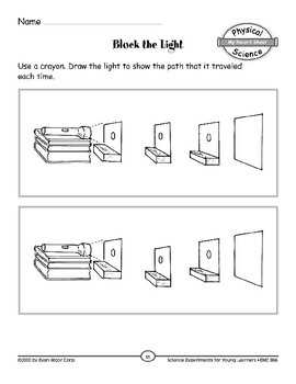 Block the Light (Light, Heat, Electricity, & Magnetism)