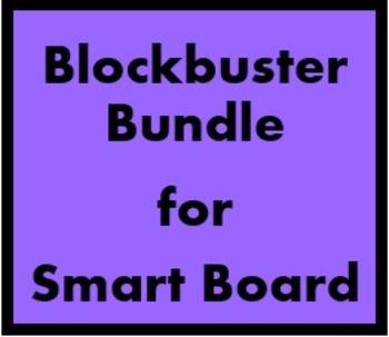 Blockbuster multi games for Smartboard