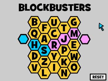 Blockbusters - Interactive Quiz Game