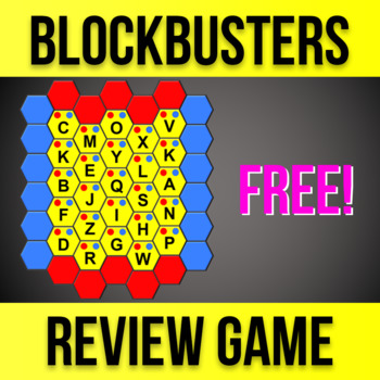 Blockbusters Gameshow Classroom Review Game - Customizable Powerpoint (HD)