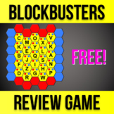 Blockbusters Gameshow Classroom Review Game - Customizable