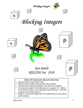 Blocking Integers