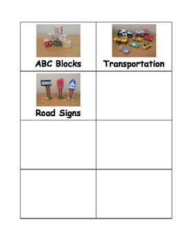 Blocks Center Labels