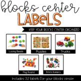 Blocks Classroom Labels