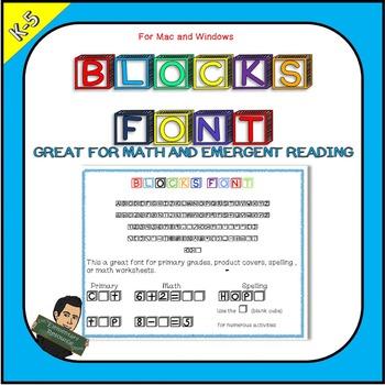 EE Blocks Font