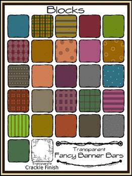 Blocks & Letters Kit  (Bargain Priced)