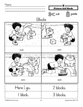 Blocks (Pictures and Words)