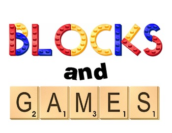 Blocks and Games Center Sign