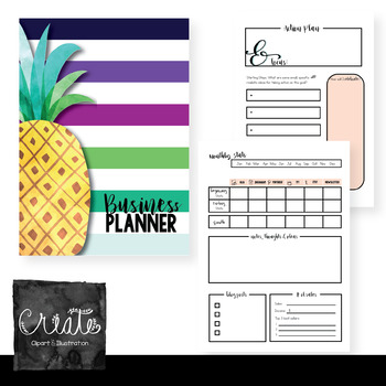 TpT Blog and Business Planner